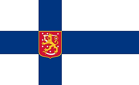 State Flag of Finland (1920–1978)