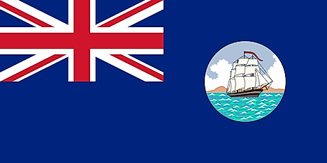 Flag of British Guiana (1875–1906)