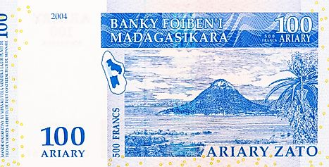 Malagasy 100 ariary Banknote