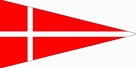 Triangular field ensign used by Swiss confederate forces from ca. the 1420s