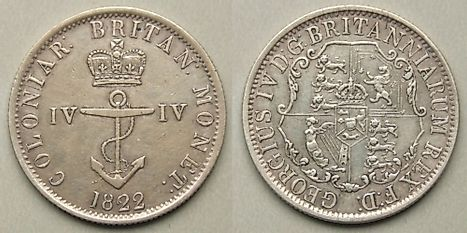 Mauritian quarter dollar Coin