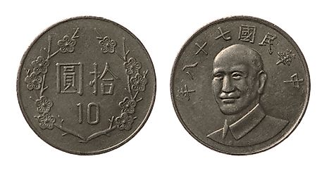 New Taiwan 10 dollar Coin