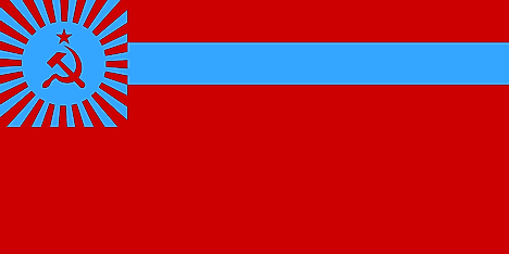 Flag of the Georgian SSR (1951–1991)