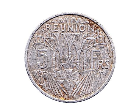 5 Francs coin of 1955