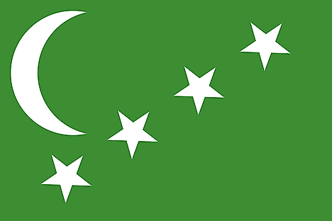 Flag of the State of the Comoros (1963–1978)