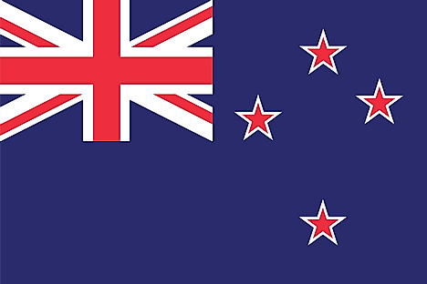 New Zealand's national flag is also regarded as Tokelau's national flag as it is a territory of New Zealand