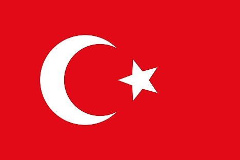 Flag of the Ottoman Empire was used when Djibouti was part of the empire.