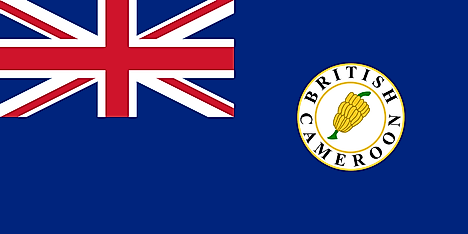 Flag of British Cameroons (1922–1961)