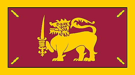 Flag of Dominion of Ceylon