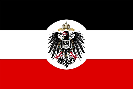 Service flag of the Reichskolonialamt (Imperial Colonial Office), German Empire. Image credit: David Liuzzo, Attribution, via Wikimedia Commons