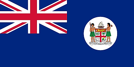 Flag of Fiji from 1908 to 1924