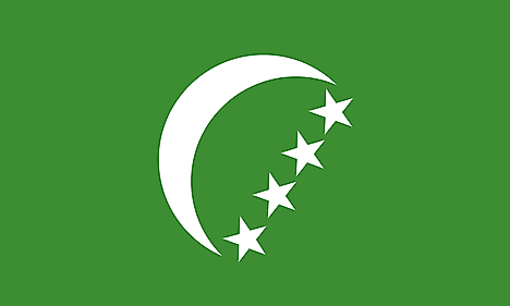 Flag of the Federal and Islamic Republic of the Comoros (1978-1992)