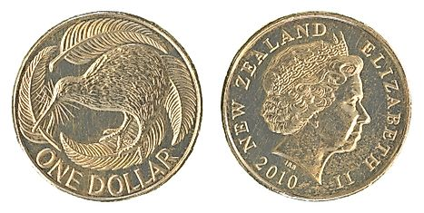 1 New Zealand dollar coin