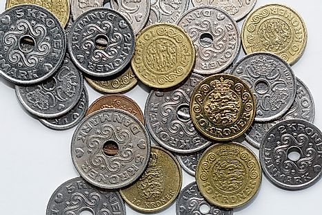 Mixed Danish Coins