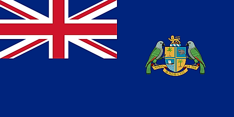 Flag of Dominica during period of becoming an associated state of Great Britain, 1965-1978. Image credit: FOX 52/Wikimedia.org