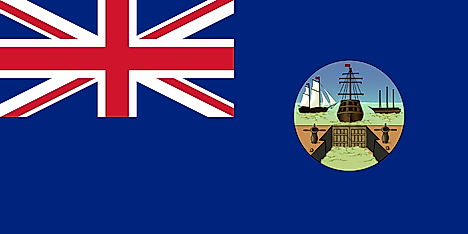 Flag used from 1875 to 1910
