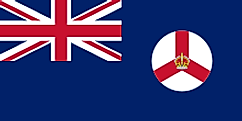 Flag of Crown Colony of Singapore