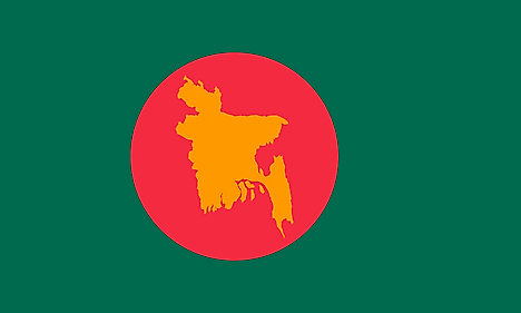 Flag used during the Liberation War