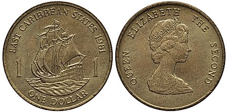 Eastern Caribbean 1 dollar Coin