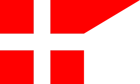 War flag of the Holy Roman Empire (Reichssturmfahne) during the 13th century
