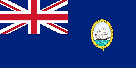 Flag of British Guiana (1919-1955)