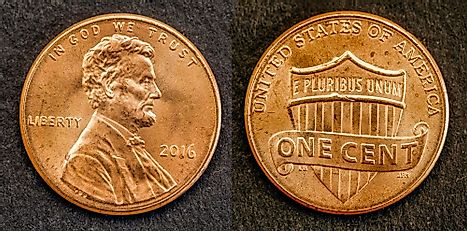 United States 1 cent Coin