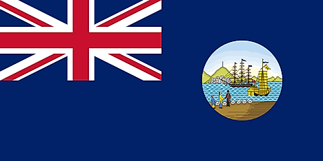 Flag used in 1876–1941 and 1945–1955