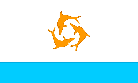 Anguilla used the Dolphin Flag between September 29, 1967 and March 19, 1969 for the period when it existed as an independent entity called the Republic of Anguilla after it gained independence from British rule for a short while.