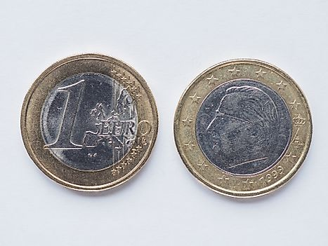 1 Euro coin from Belgium