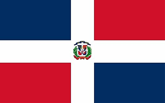 Dominican Republic Flags and Symbols and National Anthem on