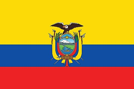 Ecuador State Symbols Song Flags And More Worldatlas