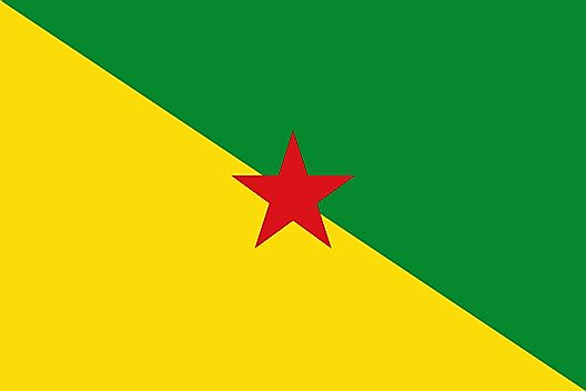 Flag of French Guiana