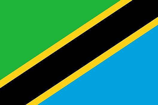 Tanzania map geography of tanzania map of tanzania worldatlas flag of tanzania gumiabroncs Image collections
