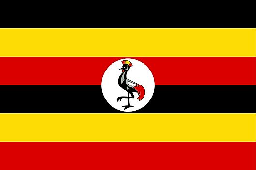 Uganda map geography of uganda map of uganda worldatlas flag of uganda gumiabroncs Images