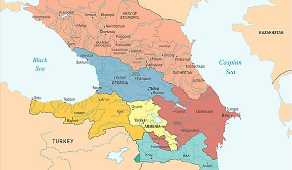 Armenia Map / Geography of Armenia / Map of Armenia - Worldatlas.com