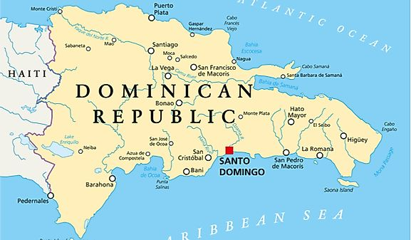 Where Is The Dominican Republic On A World Map.Dominican Republic Map Geography Of Dominican Republic Map Of