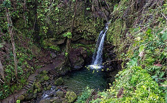 #5 Morne Trois Pitons National Park