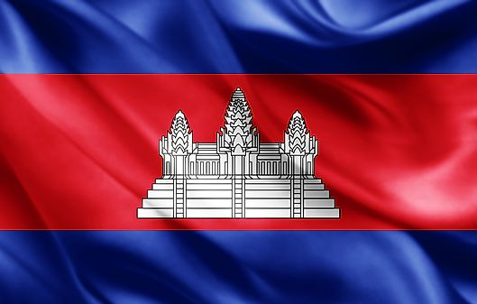 What Cambodia Flag Mean