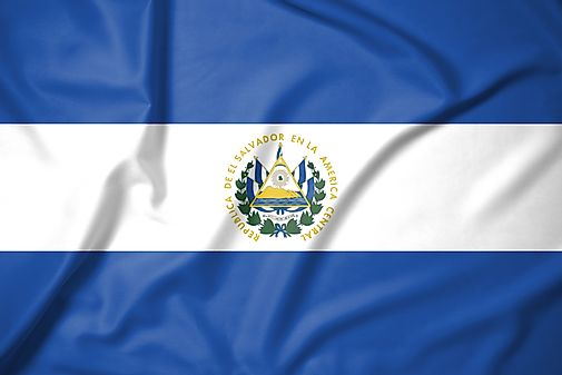 El Salvador State Symbols Song Flags And More Worldatlas