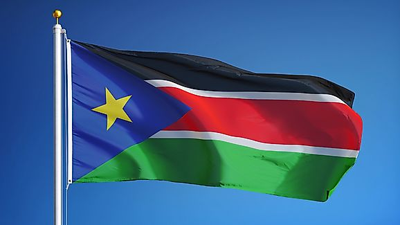south sudan flags and symbols and national anthem