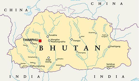 Geography of Bhutan - World Atlas
