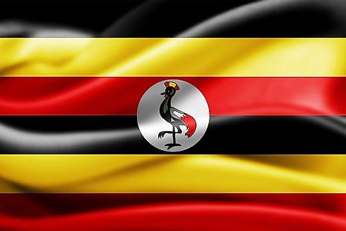 Uganda map geography of uganda map of uganda for Knebel design pool ug