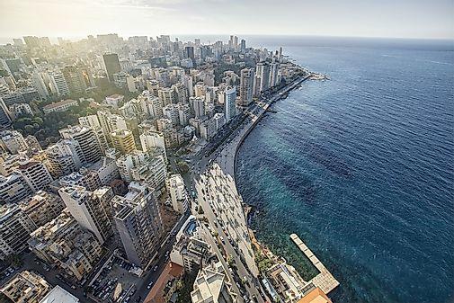 Lebanon Map / Geography of Lebanon / Map of Lebanon - Worldatlas.com