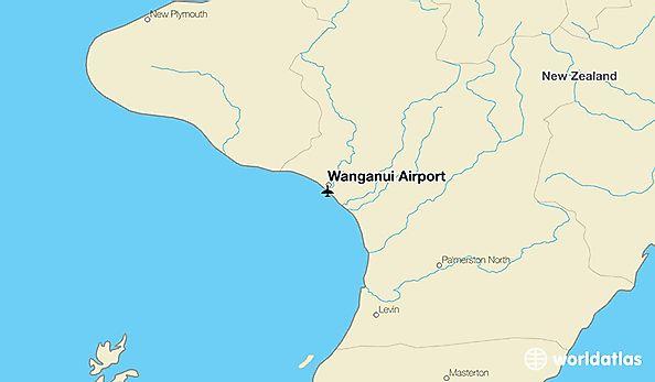 Where Is Wanganui In New Zealand Map.Wanganui Airport Wag Worldatlas