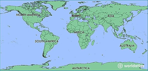 Where is Austria? / Where is Austria Located in The World ...