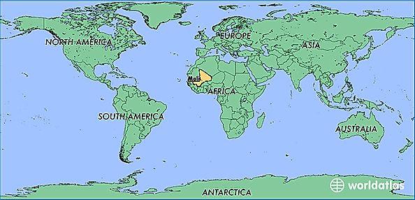 Where is Mali? / Where is Mali Located in The World? / Mali ...