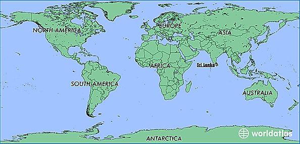 Where Is Sri Lanka Where Is Sri Lanka Located In The World