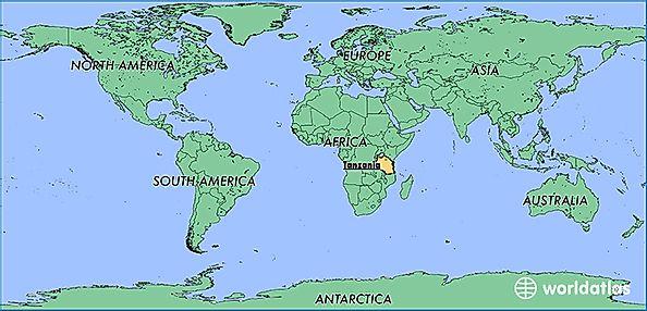 Tanzania Africa World Map.Where Is Tanzania Where Is Tanzania Located In The World