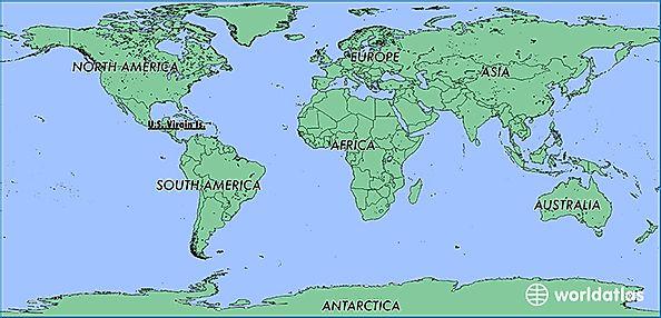 Map Of Us Islands.Where Is U S Virgin Islands Where Is U S Virgin Islands Located