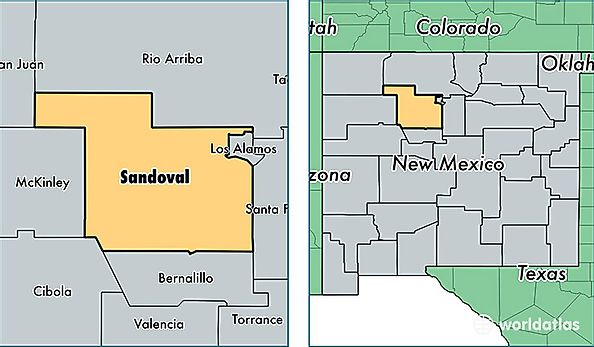 Sandoval County, New Mexico / Map of Sandoval County, NM / Where is ...
